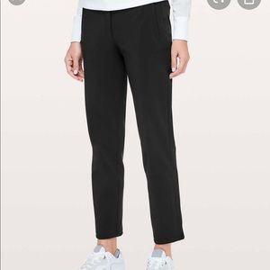 *NWT* Lululemon On The Move Pant in Black